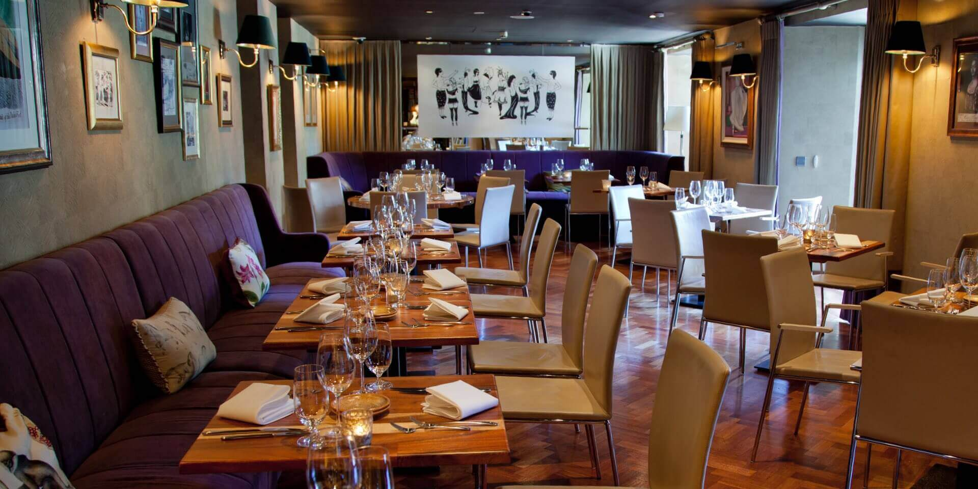 Suesey street restaurant wine bar terrace for Best private dining rooms dublin
