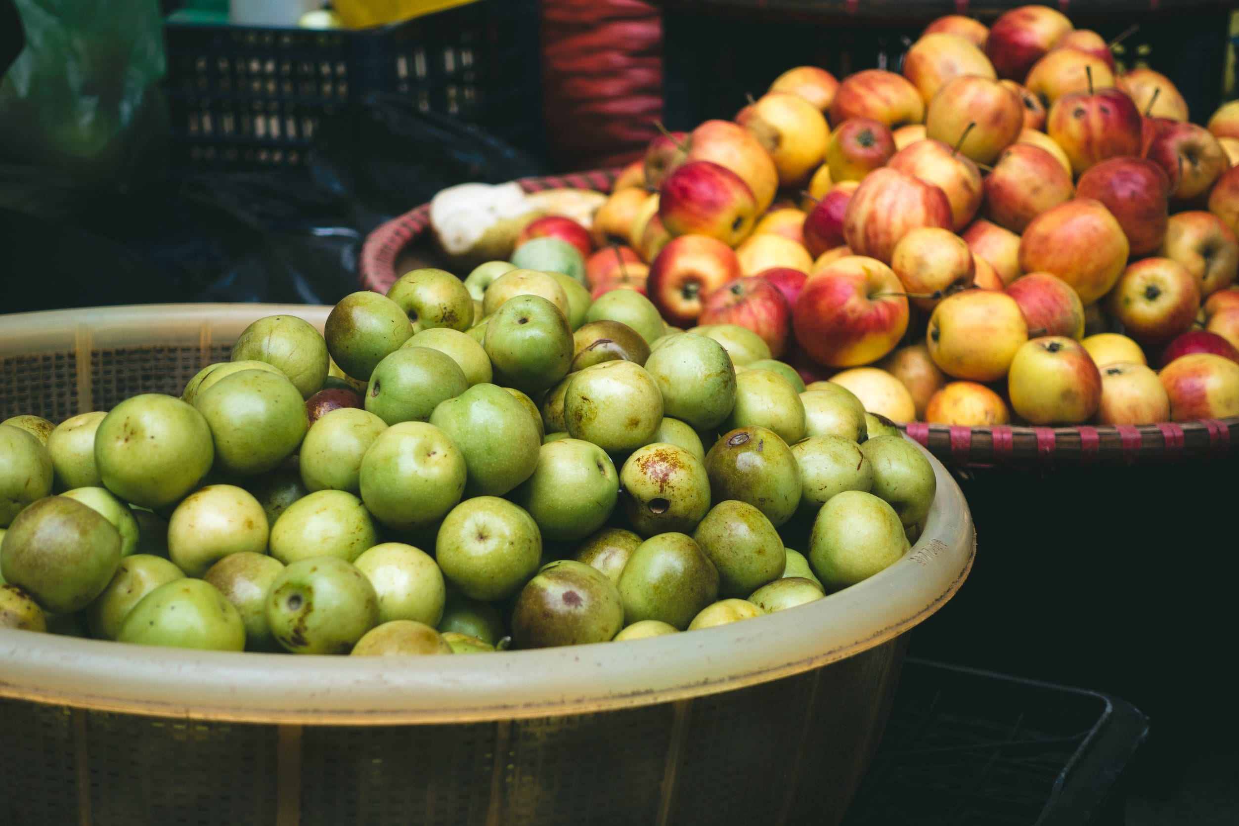 Suesey Street, What's In Season, September, apples