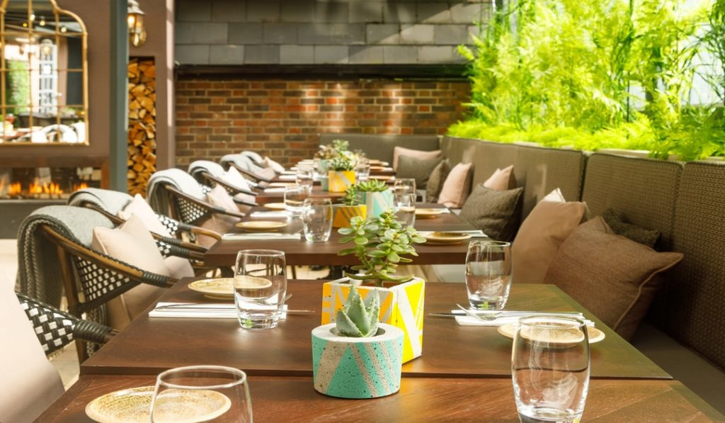 The Garden Room, Suesey Street, Dining in Dublin, Dublin Restaurant, Outdoor dining, dining al fresco