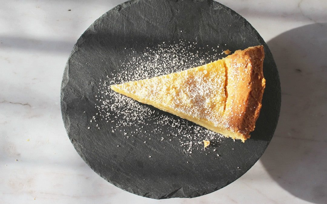 Head Chef Cathal's Tangy Lemon Tart