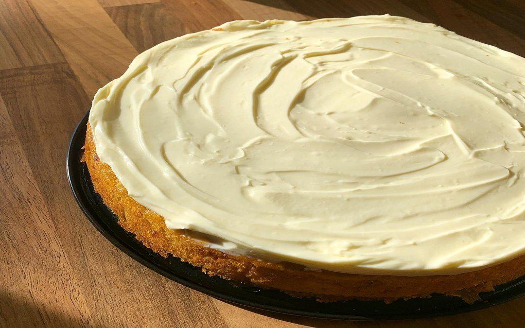 Darko's Zesty Carrot Cake with Cream Cheese Icing