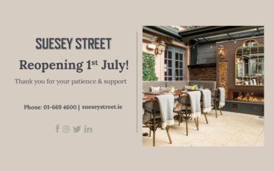 Suesey Street Reopening FAQ's